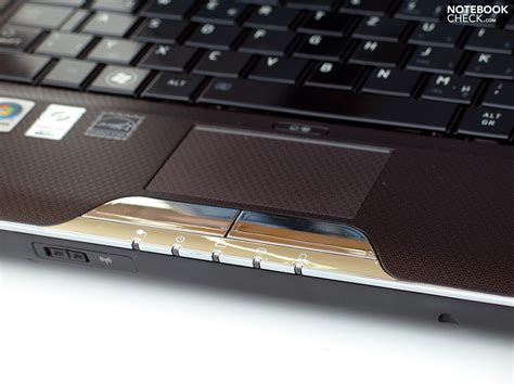 Touchpad Notebook test toshiba satellite u500 115 notebook notebookcheck