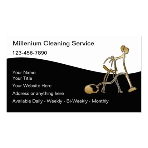 Home Cleaning Business Cards Templates by House Business Cards