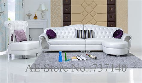 white sofa set living room sofa set living room furniture modern french style leather
