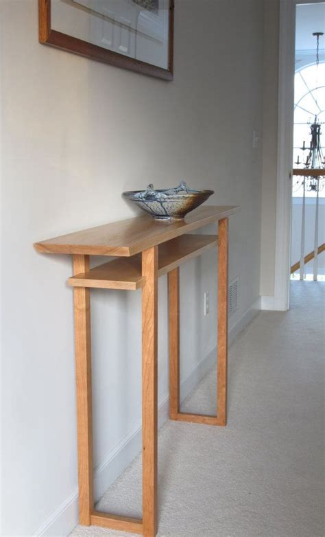 Wood Entryway Furniture Best 25 Narrow Console Table Ideas On