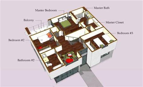 planos de casas peque 241 as modernas