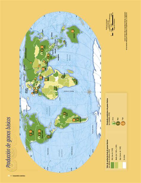 libro de texto de atlas de geografia del mundo 5 grado de primaria atlas de geograf 237 a del mundo quinto grado 2017 2018