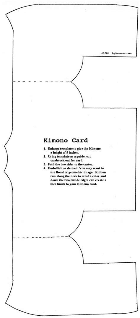 beginning card template best 25 kimono pattern free ideas on kimono