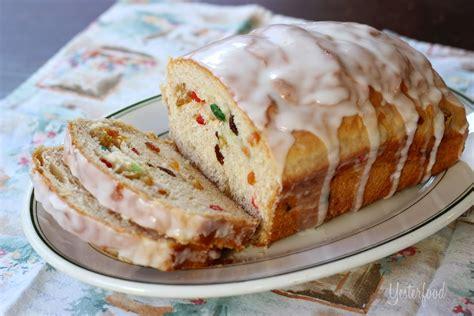 fruit bread recipes yesterfood rich fruit bread