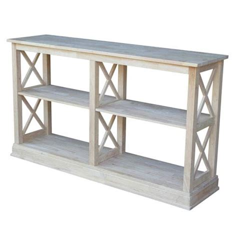 sofa table with shelves outdoor