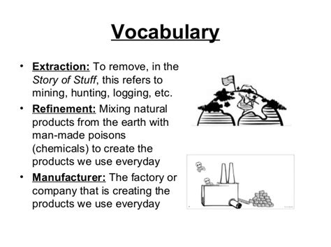 Story Of Stuff Worksheet Answers by The Story Of Stuff