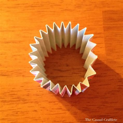 How To Make A Paper Rosette - paper rosette tutorial purely