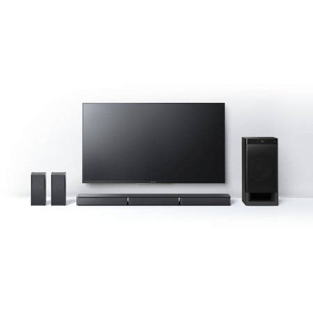 refurbished sony htrt  channel home theater sound