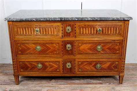 Commode Louis Xvi Marqueterie commode marqueterie epoque louis xvi antiquites en