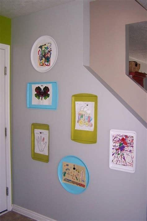 ways to display artwork 12 creative ways to display and preserve kids artwork