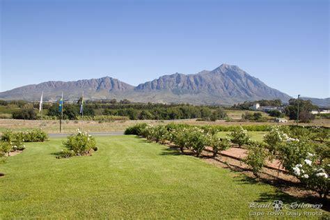 Landscape Cape Town Tulbagh S Beautiful Landscape Cape Town Daily Photo