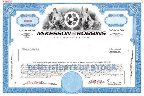 Mckesson Background Check Mckesson Robbins Incorporated