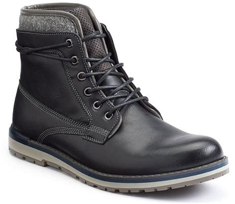 kohls mens work boots fashion boots for are on sale at kohl s