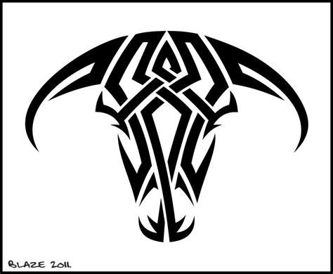 tribal bull skull tattoos tribal bull skull tattoos www imgkid the image kid