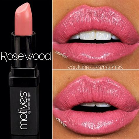 Shop Rosewood Lipstick the lip with motives cosmetics lipstick in rosewood