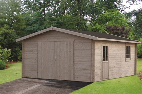 log cabin garage rydell log cabin garage 4 7 x 5 7m