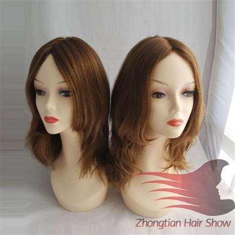 silk top thin skin shevy cap jewish wig kosher wigs view 20inch 4 virgin human hair shevy jewish wig buy shevy