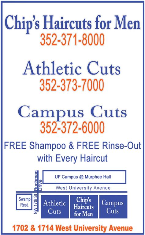 haircut coupons gainesville fl smartphone offers a b gator greenbacks coupon book