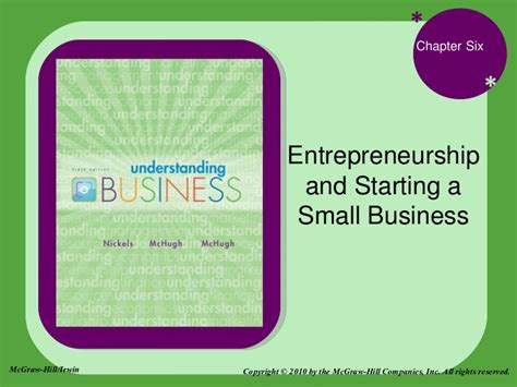 how can i start a small business from home bus110 chap 6 entrepreneurship and starting a small business