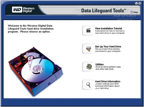 western digital data lifeguard tools download