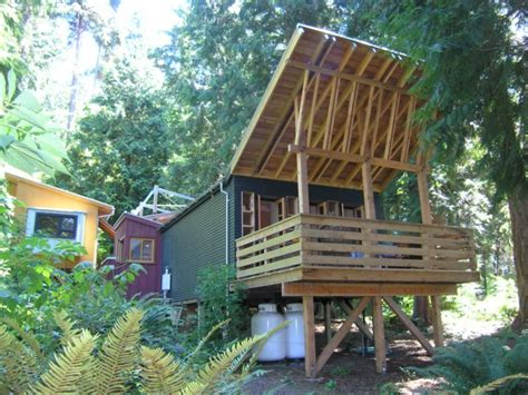 tiny house on foundation plans building on piers or full foundation
