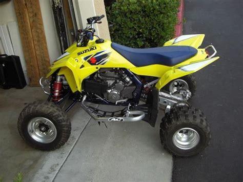 Suzuki 4 Wheelers For Sale 2007 Suzuki Racer Lt R 450k 4 Wheeler Yellow Blue