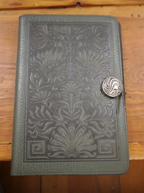 design journal green new oberon discontinued dark green leather celtic design