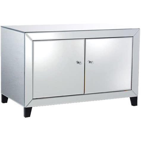 Low Cabinet With Doors Mirrored 2 Door Low Cabinet