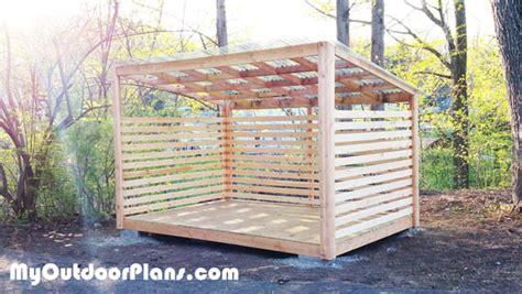 wood storage shed myoutdoorplans  woodworking