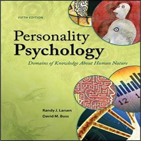 pin  test bank  personality psychology domains