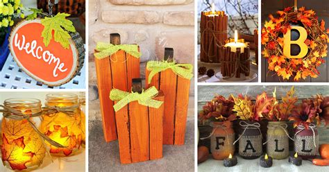 craft ideas for fall decorating 28 best diy fall craft ideas and decorations for 2017