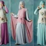 Busana Spirit 212 Baju Muslim Remaja Wanita Katun Nibras Nt 18 baju muslim cantik atasan pashmina maxi dress pesta cantik