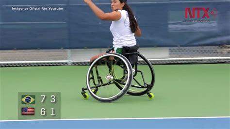 tenis en silla de ruedas tenis en silla de ruedas juegos paral 237 mpicos r 237 o 2016