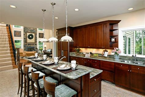 Kitchen Designs With Islands And Bars Made Of Metal Kitchen Islands With Breakfast Bars