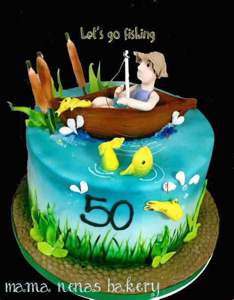 man in fishing boat cake topper fishing theme cake fishing theme cake chocolate boat
