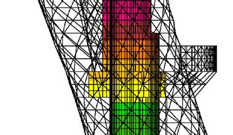 Commercial Floor Plan Design Capital Gate Parametric Design Results In Worlds Steepest