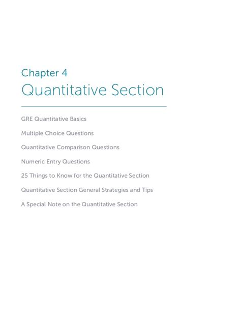 practice gre quantitative section benchprep s gre playbook