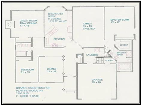 Design Your Floor Plan | free house floor plans and designs design your own floor