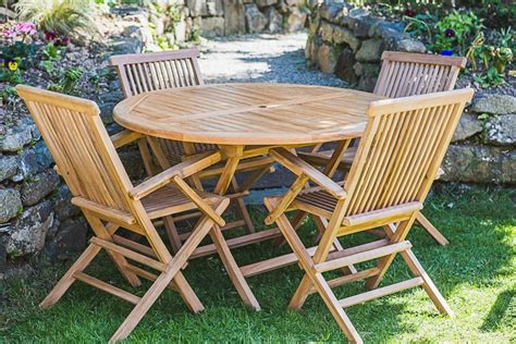 Garden Table Chairs Outdoor Teak Furniture Set Garden Furniture Land