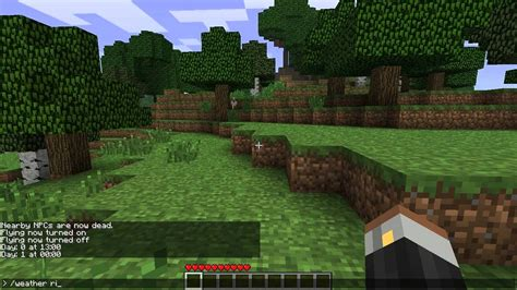 minecraft game console mod 1 6 4 minecraft console commands single player mod download