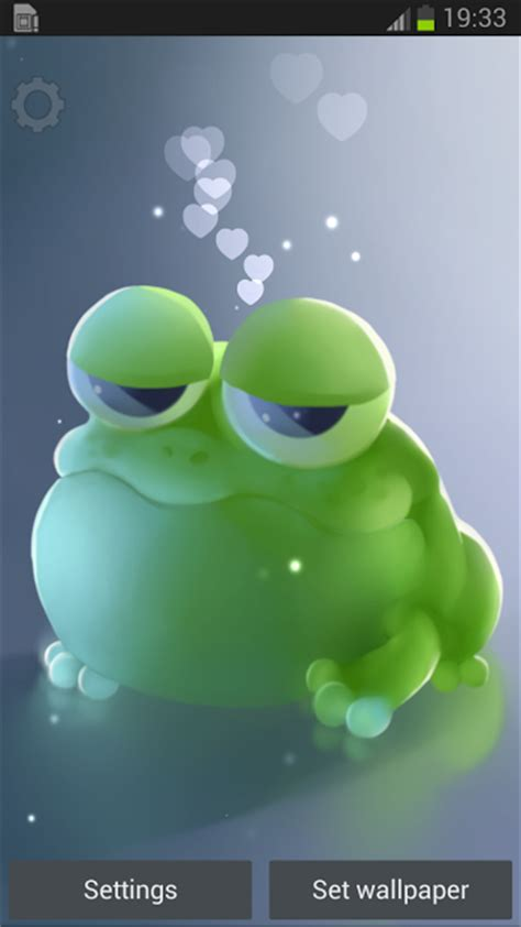 wallpaper apple frog apple frog