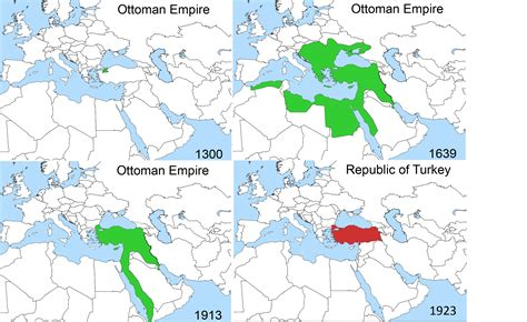 Ottoman Empire Rise And Fall Rise And Fall Of The Ottoman Empire Geography Education