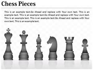 Chess Pieces Outline by Chess Pieces Powerpoint Ppt Templates Background Slides And Presentation