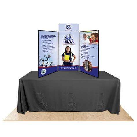 table top display 3 panel promoter45 table top display kit 2