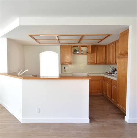 how to remove a soffit kitchen renovation update remodel woes kitchen ceiling and cabinet soffits