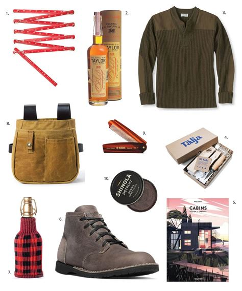 rugged gifts rugged stylish gifts for the lumbersexual gift guide from apartment therapy