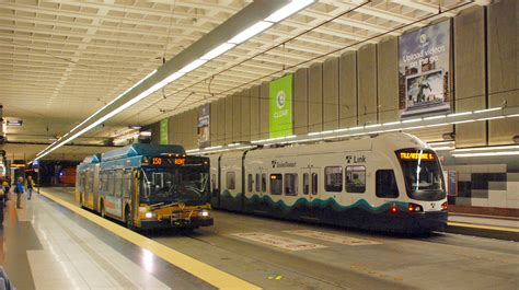 seattle light rail schedule downtown seattle transit tunnel wiki everipedia