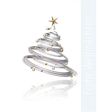 weihnachtskarte klappkarte a6 mit weihnachtsbaum modern