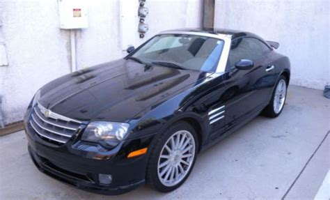 chrysler crossfire luggage purchase used chrysler crossfire srt 6 coupe supercharged