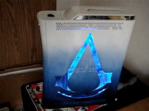 modded xbox 360 console modded xbox 360 assassins creed console